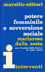 Cover of an Italian - marsilio editori - edition of Mariarosa Dalla Costa's Essay Women and the Subversion of the Community published with Selma James' 1953  piece A Woman's Place, White lettering on blue background